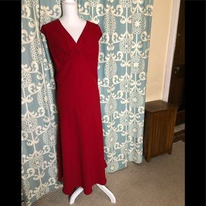 Amanda Smith Woman Red Evening Dress